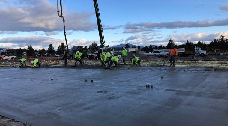 Oregon State University 3 level CLT deck system