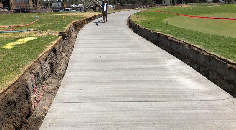 Pronghorn Resort concrete pour